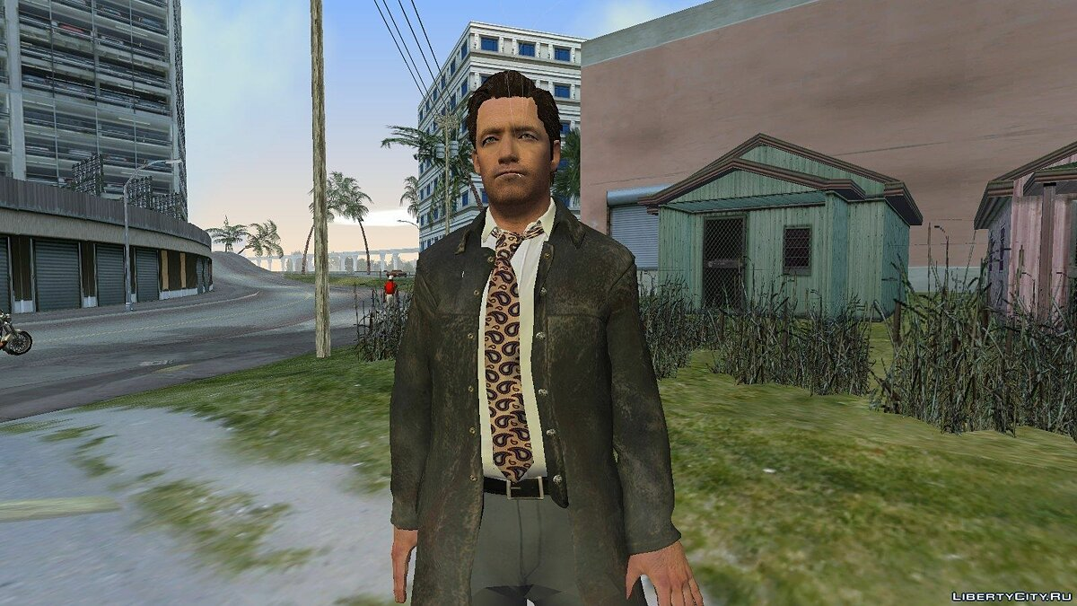 Макс Пейн из Max Payne 3 v1 для GTA Vice City