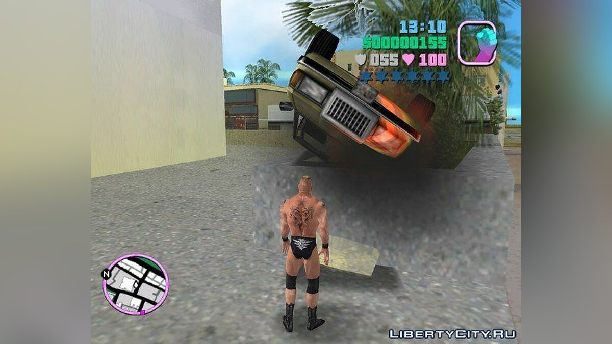 Brock Lesnar from Here Comes The Pain game для GTA Vice City