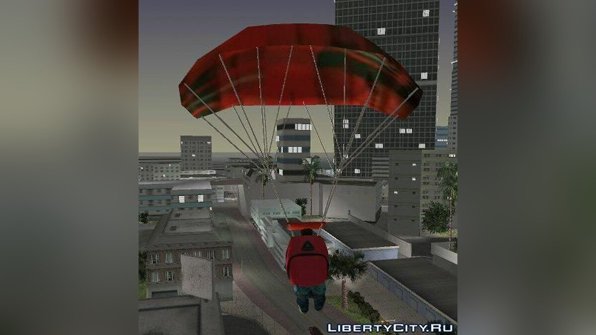 San Andreas Parachute для GTA Vice City
