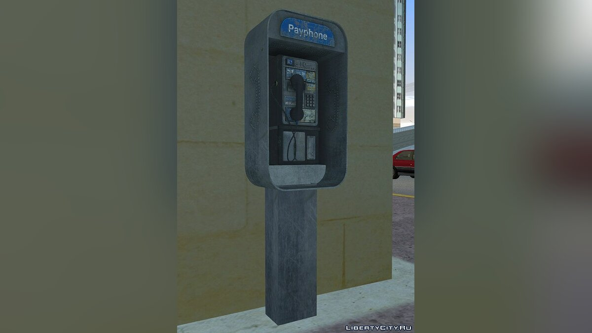 Мод High Quality Payphones для GTA Vice City
