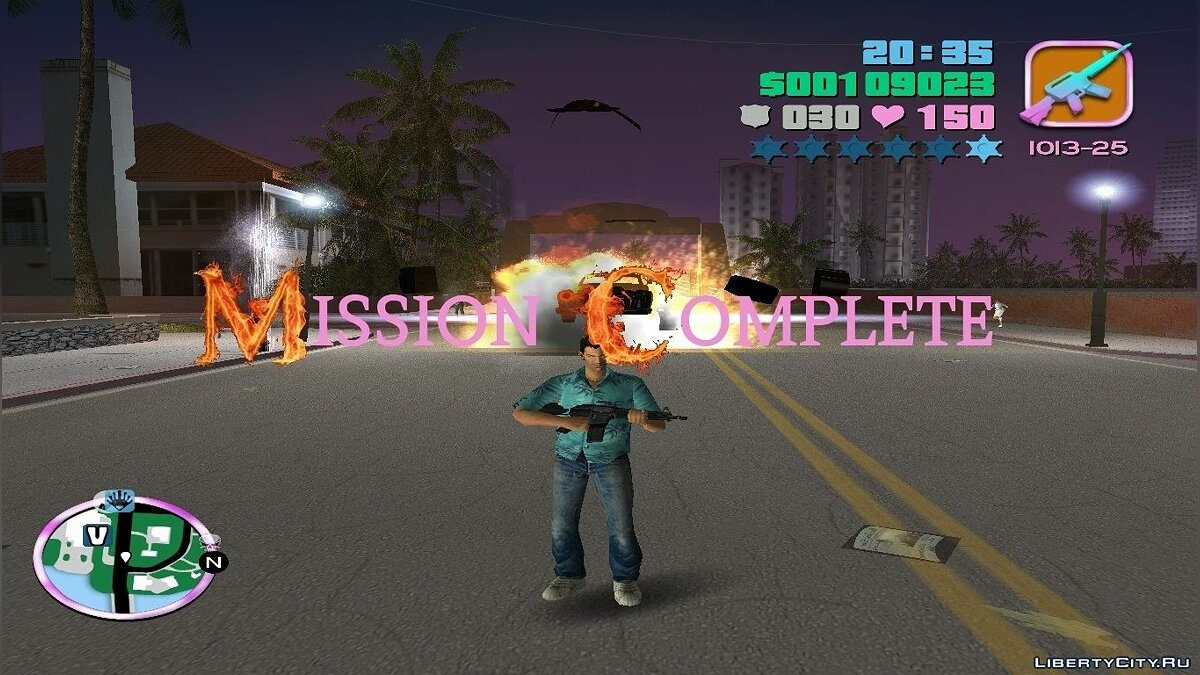 "Contra ''Stage Clear'' - Пак звуков ""Mission Complete"" для GTA Vice City"