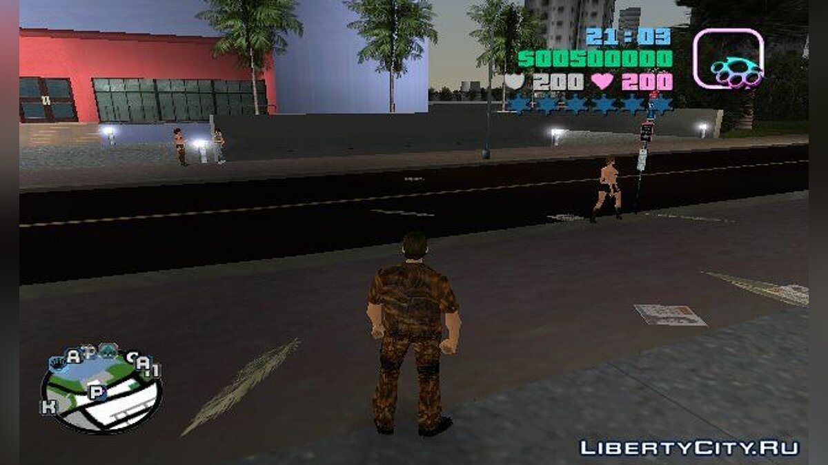 VC Russian HUD для GTA Vice City