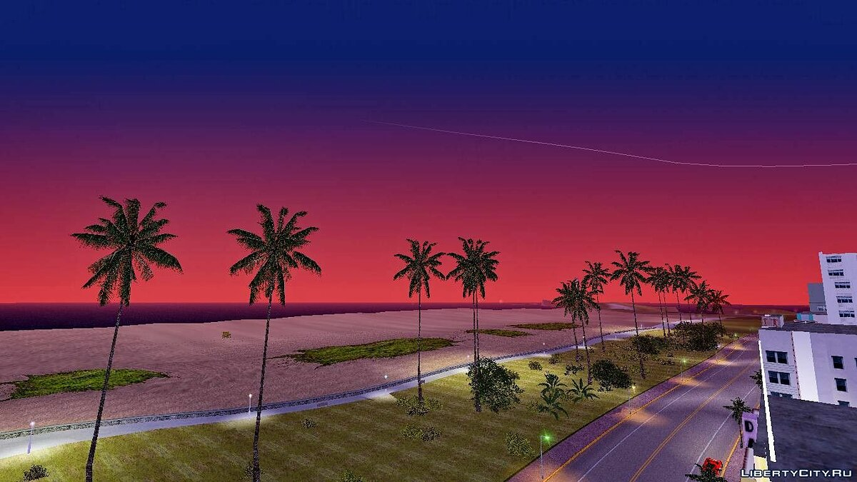 Мод Новое небо (Timecyc) для GTA Vice City
