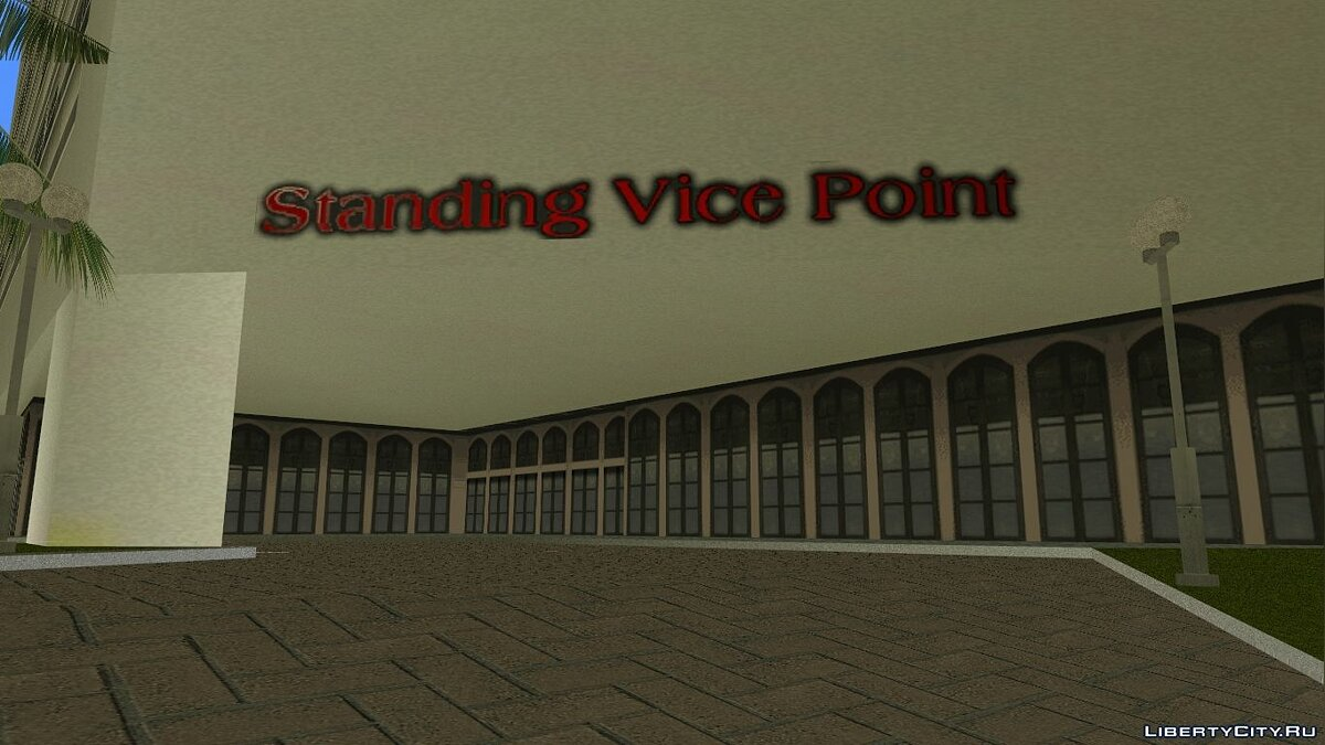 Standing Vice Point Interior для GTA Vice City - Картинка #3