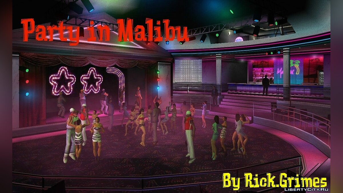 Party in Malibu для GTA Vice City