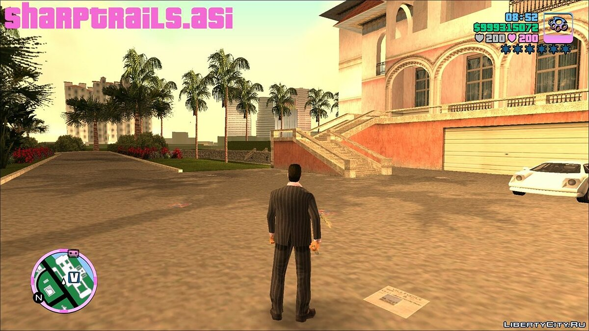 Мод [III/VC] Sharp Trails для GTA Vice City
