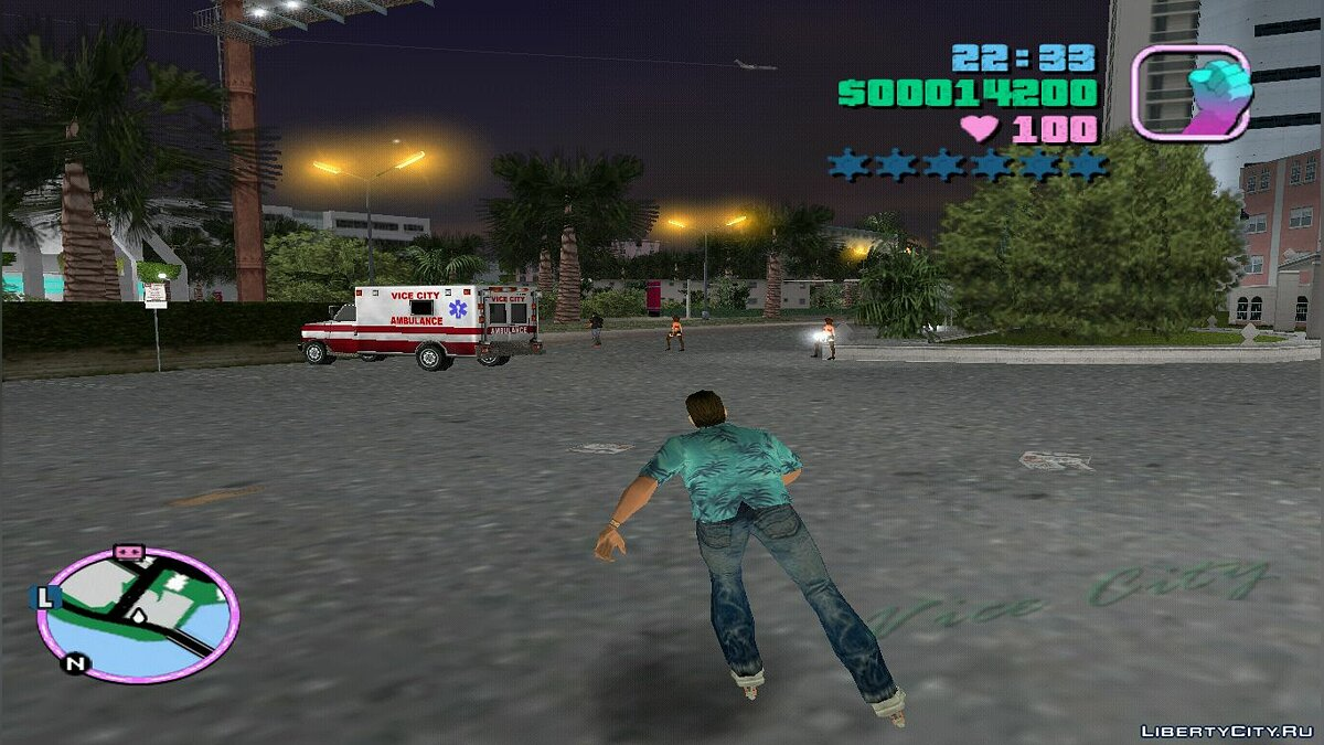 Rollerskater Mod для GTA Vice City - Картинка #2