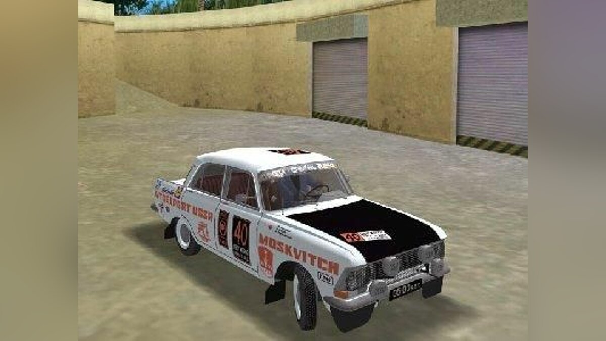 Moskwitsch 412 rally edition для GTA Vice City