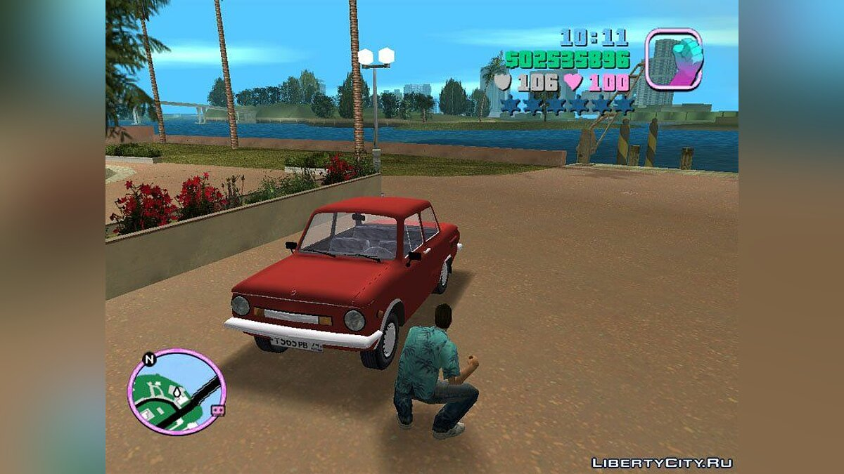 ЗАЗ - 968М для GTA Vice City