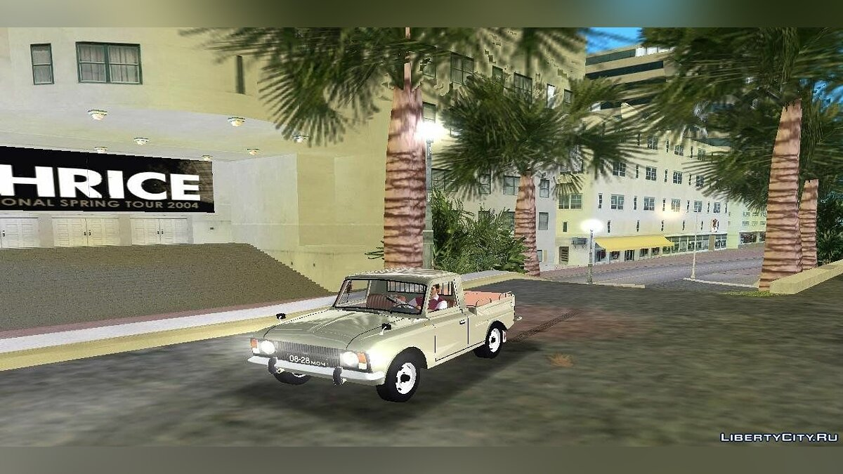 ��усская машина ИЖ 27151 Пикап для GTA Vice City