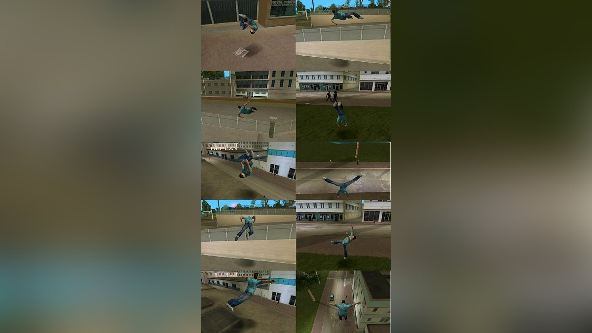 Cleo Parkour for Vice City для GTA Vice City