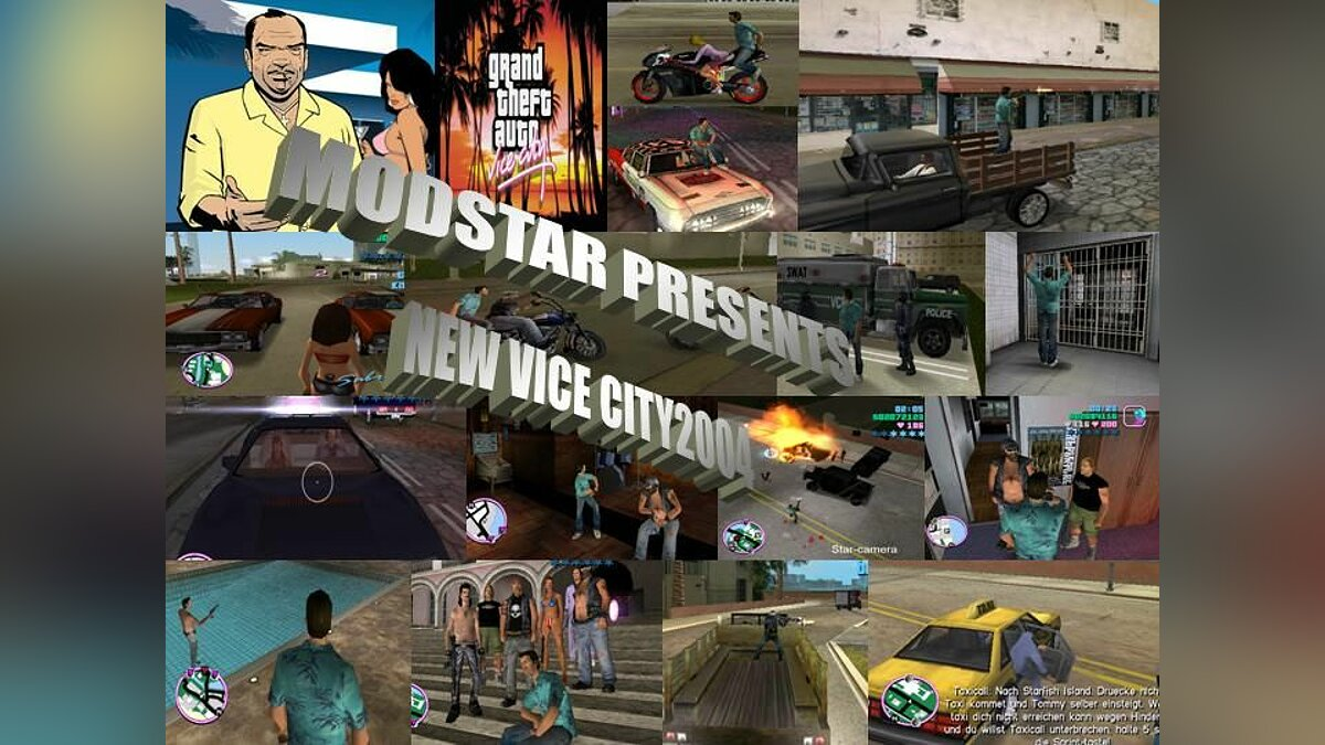 Real Vice City для GTA Vice City