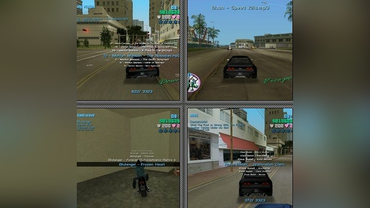 Vice City Mp3 Control для GTA Vice City