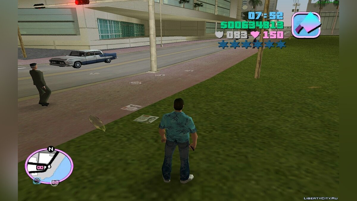 AllWeapon 2.0(VC) для GTA Vice City