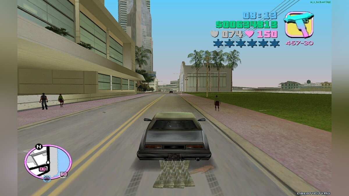 [CLEO]HP_Stinger 2.0 для GTA Vice City