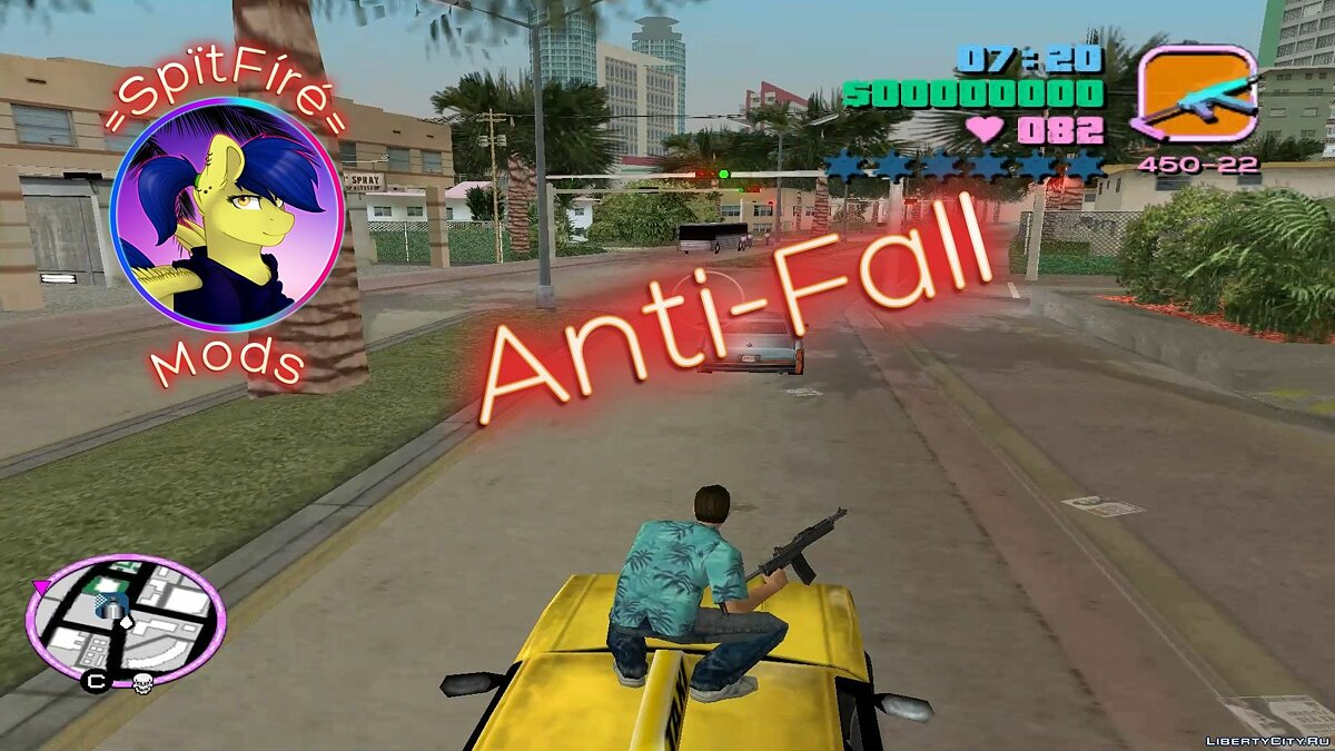 Anti-Fall для GTA Vice City