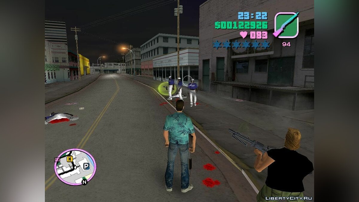 Phil Cassidy Guardaespaldas для GTA Vice City