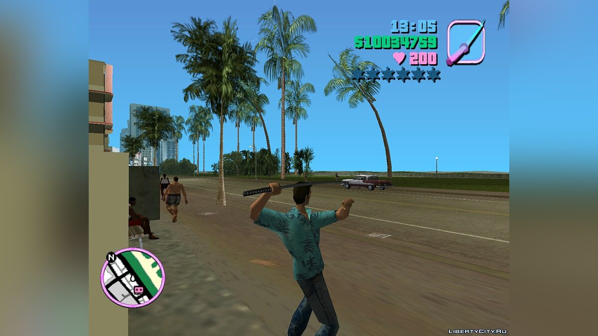 AIM 0.1 для GTA Vice City - Картинка #1