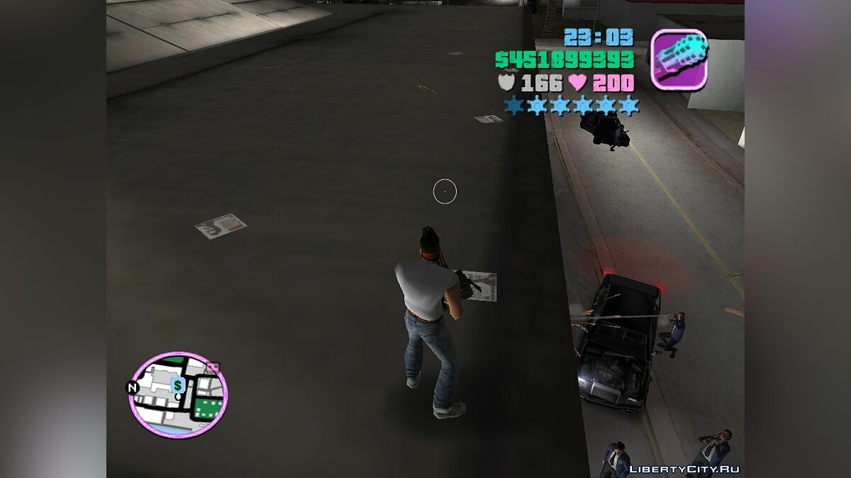 "FBI Car ""Randomizer"" для GTA Vice City"
