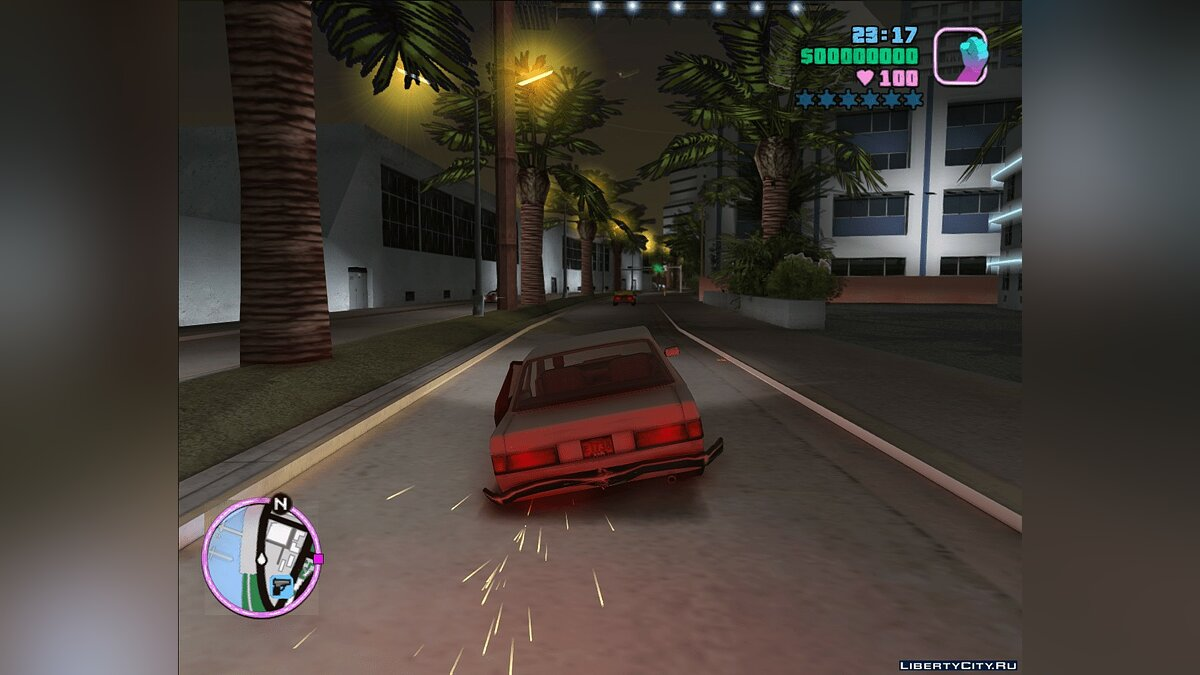 Скриптовый мод Realistic cars suspension and crashes для GTA Vice City