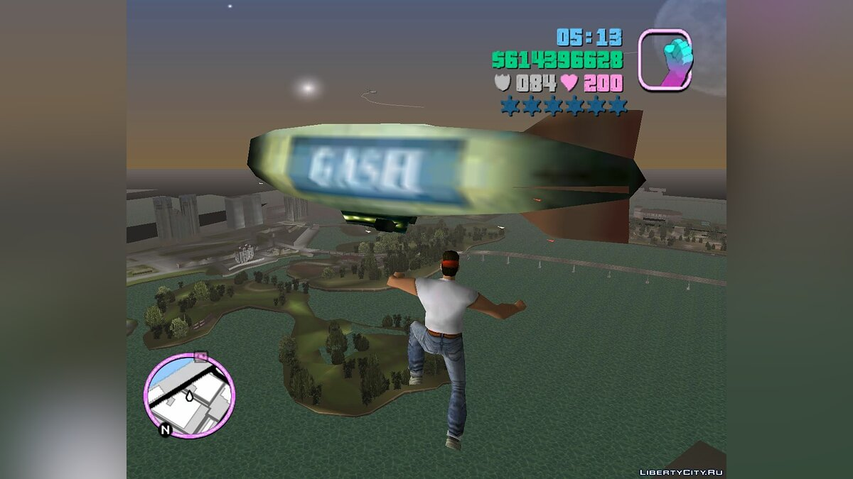 Jump and Fly для GTA Vice City