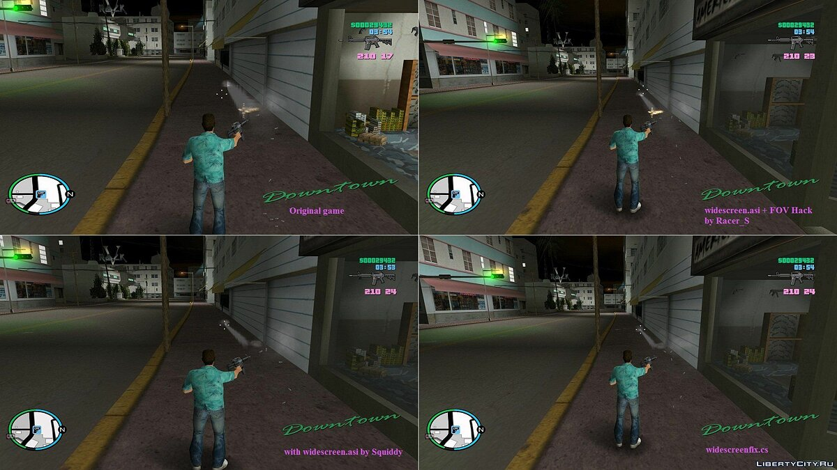 Proper Widescreen Fix для GTA Vice City