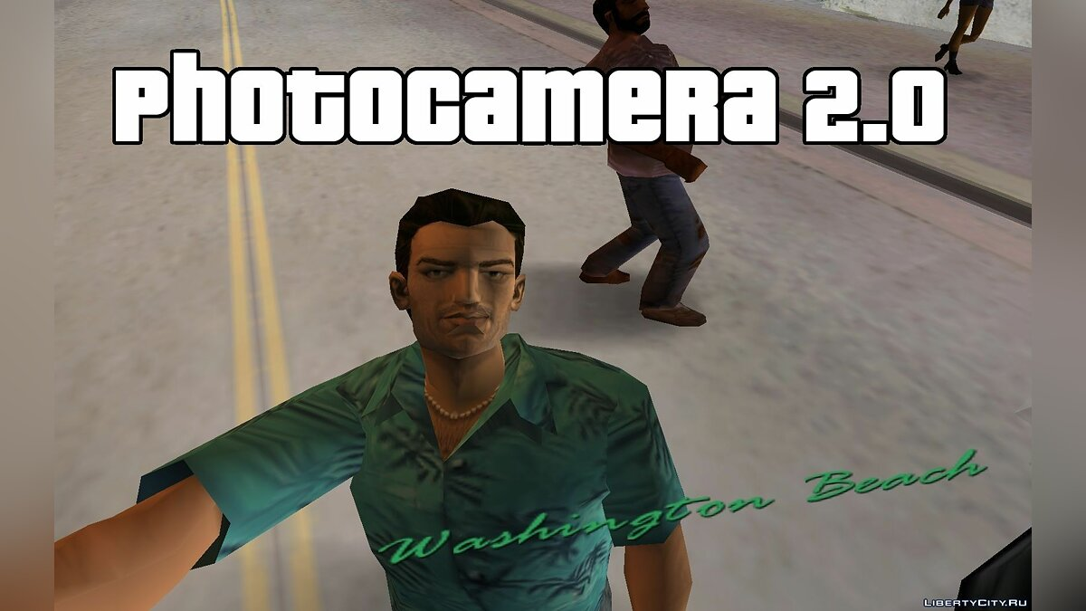 Photocamera 2.0[with Selfie!] 2.0 для GTA Vice City