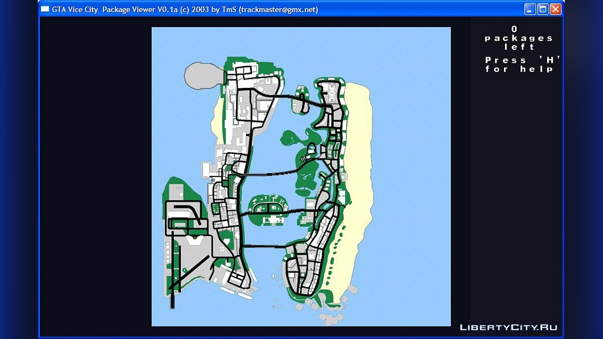 Редактор Package Viewer для GTA Vice City