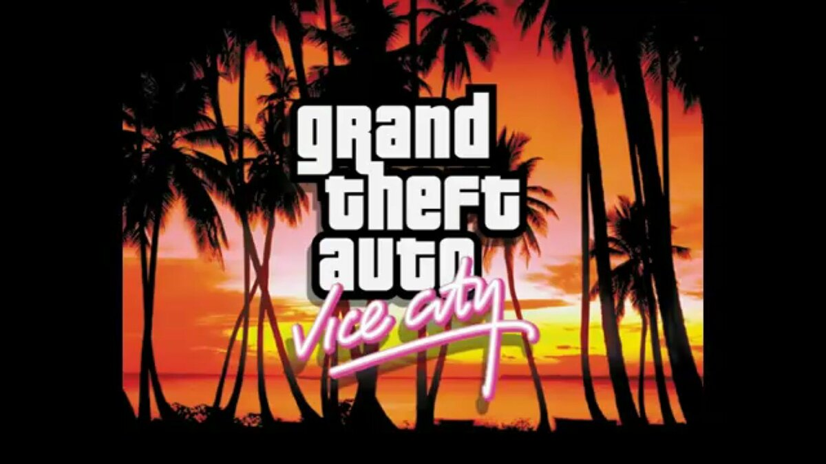 ��рейлер Заставка GTA Vice City для GTA Vice City