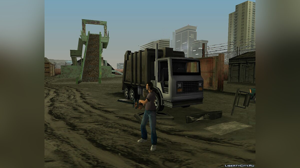 Грузовик Trashmaster из GTA 3 для GTA Vice City