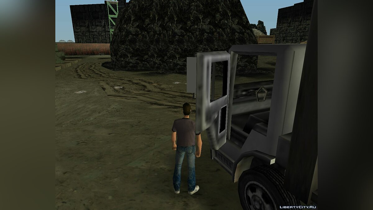 ��рузовик Trashmaster из GTA 3 для GTA Vice City