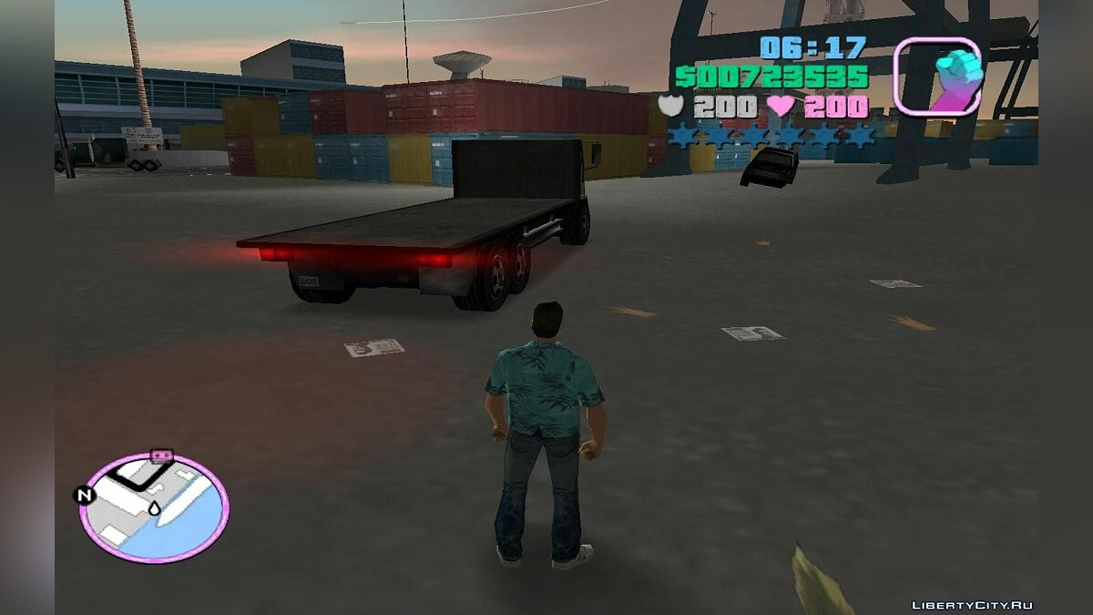 Грузовик SA DFT-30 для GTA Vice City