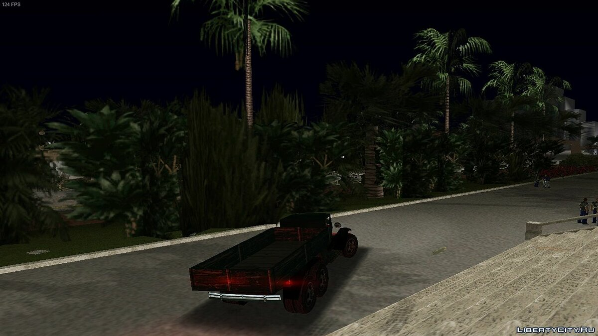 Грузовик Mafia Truck для GTA Vice City