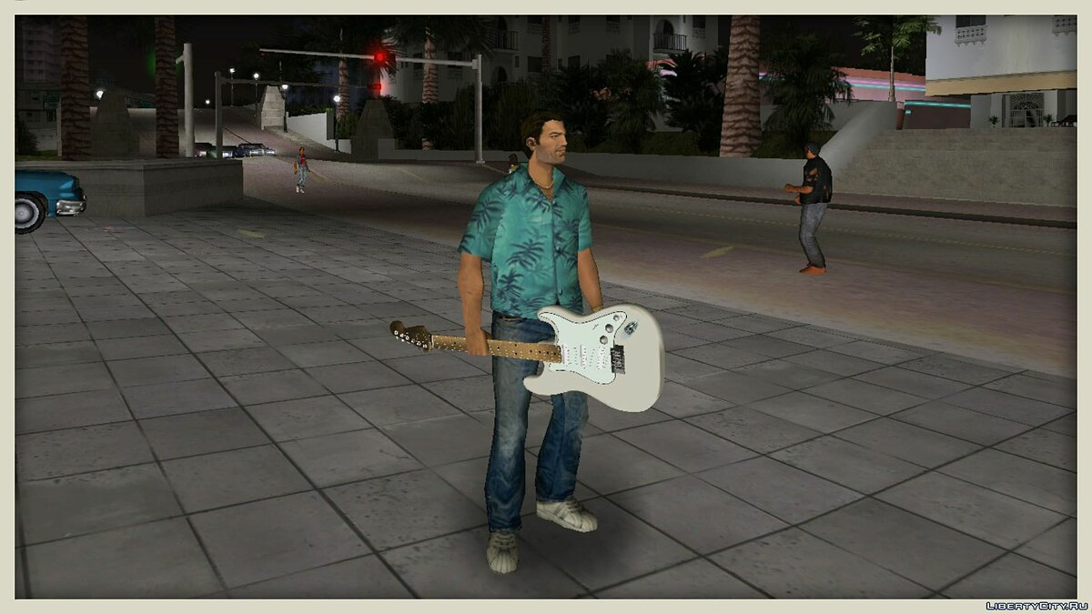 Fender Jimi Hendrix Stratocaster для GTA Vice City - Картинка #3