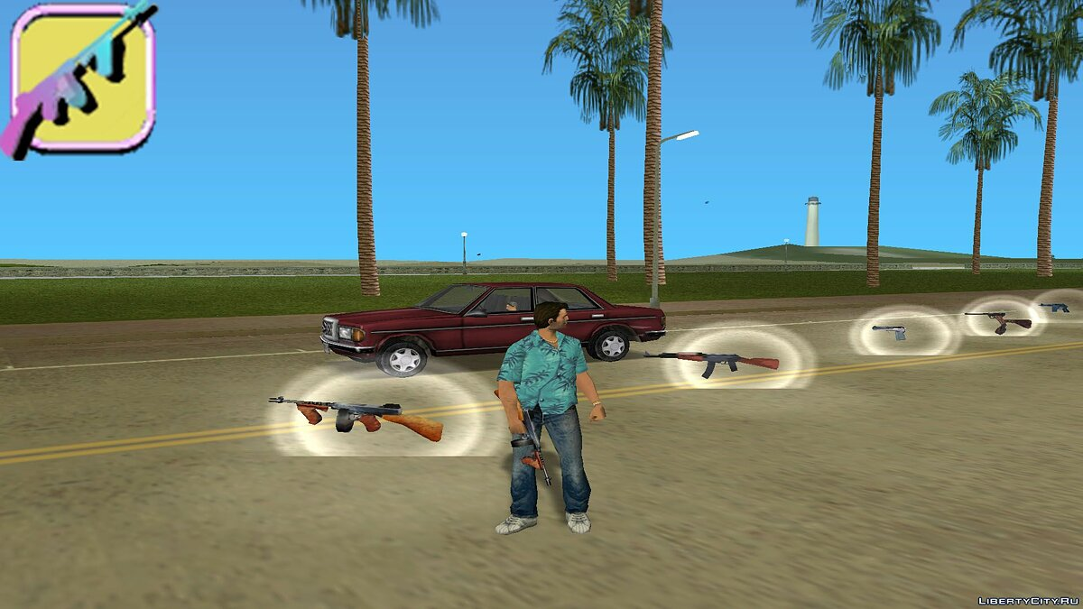 [MVL]AnriTool weapon pack для GTA Vice City - Картинка #4