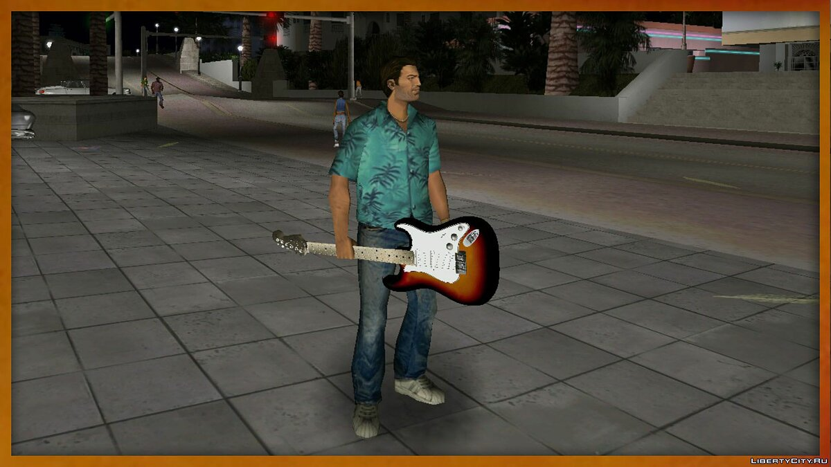 Fender Stratocaster Triple Pack для GTA Vice City - Картинка #2