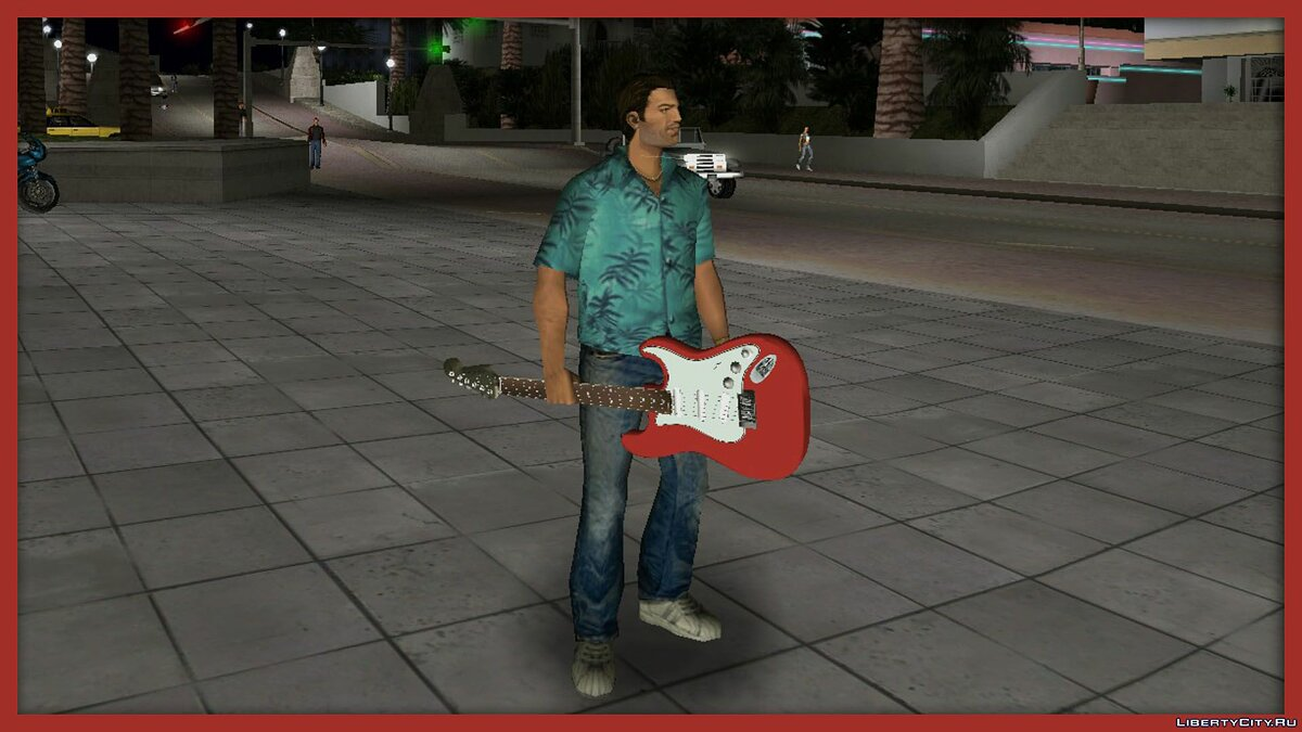 Fender Stratocaster Triple Pack для GTA Vice City - Картинка #4