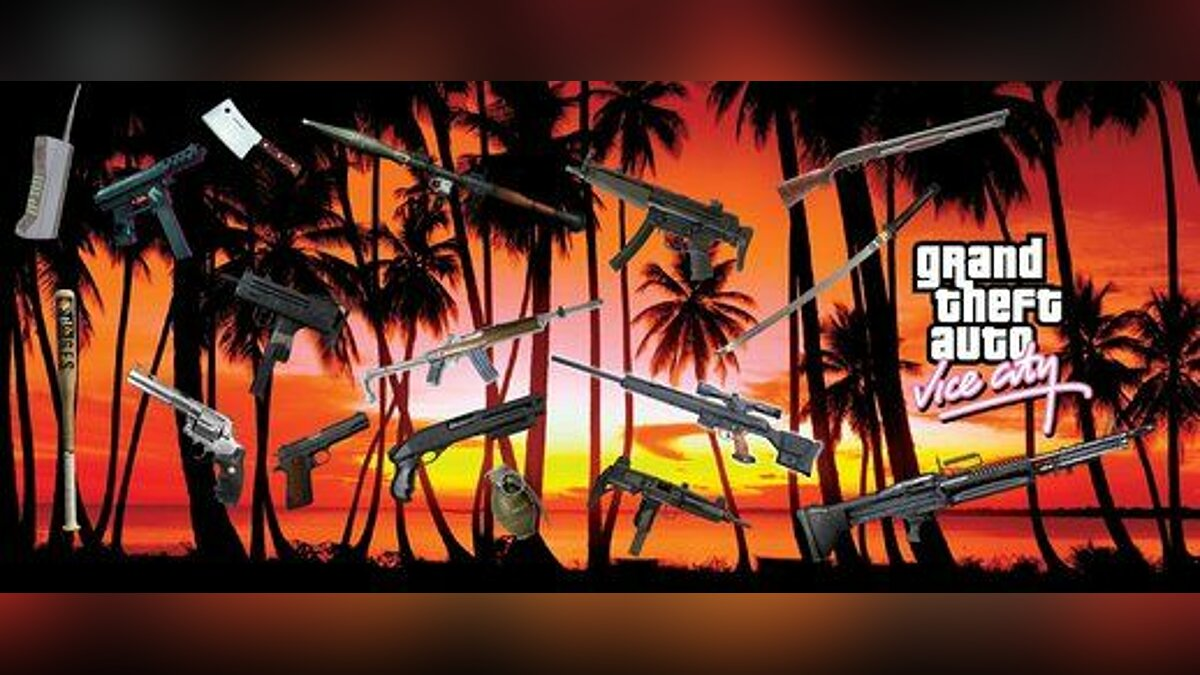 HD Weapons для GTA Vice City