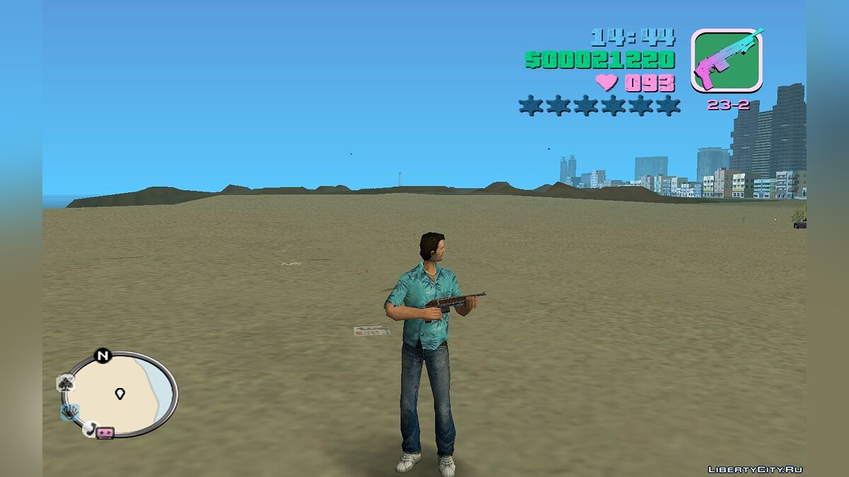 Оружейный мод TOZ 106 для GTA Vice City
