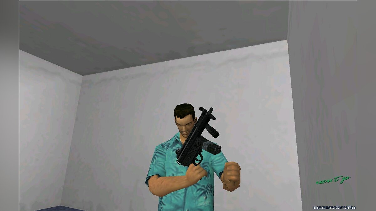 Оружейный мод MP5k для GTA Vice City