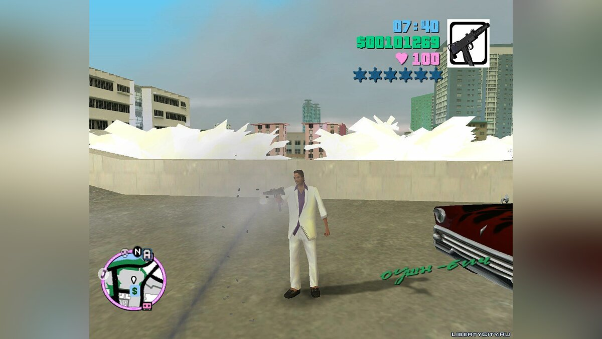 {MVL} Mac10 Silenced для GTA Vice City