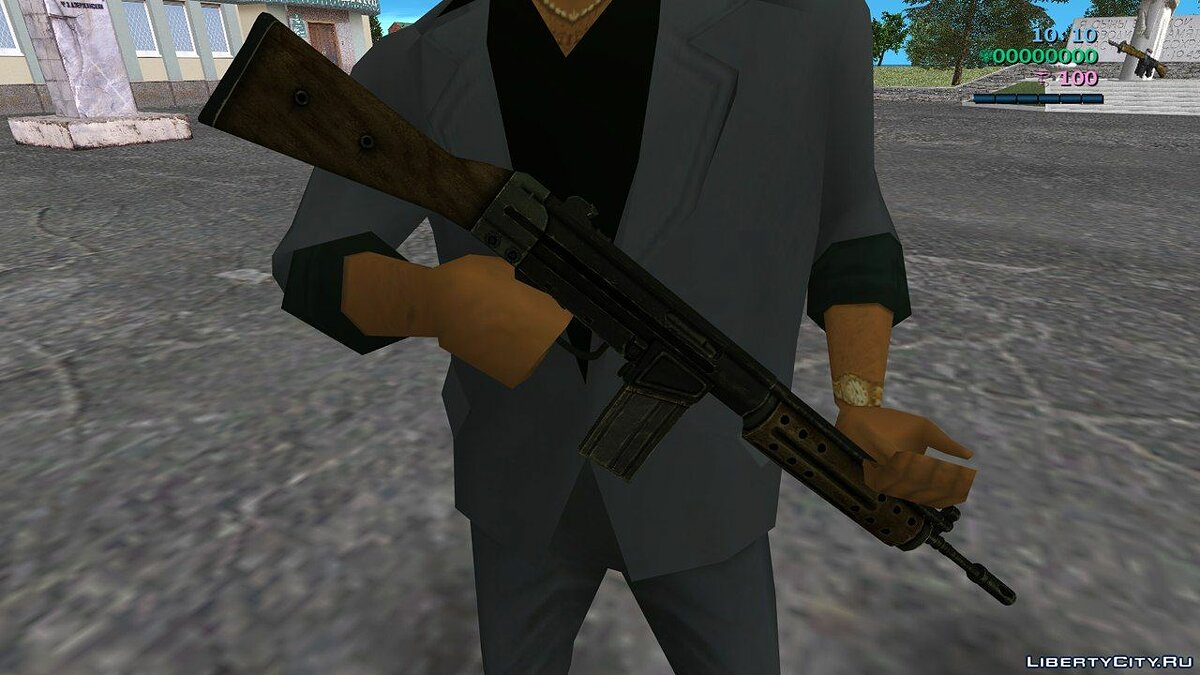 [MVL] R91 Assault rifle from Fallout 3 для GTA Vice City - Картинка #2