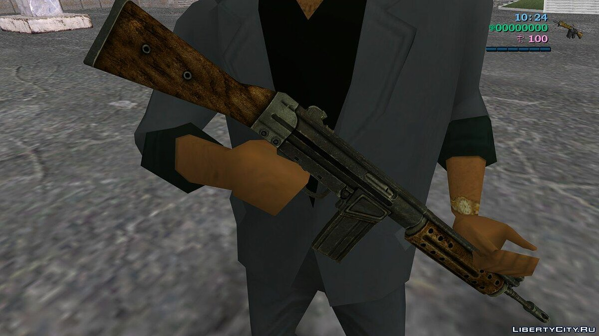 [MVL] R91 Assault rifle from Fallout 3 для GTA Vice City - Картинка #1