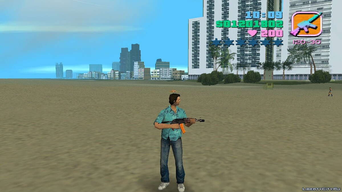 AK-47 для GTA Vice City - Картинка #2