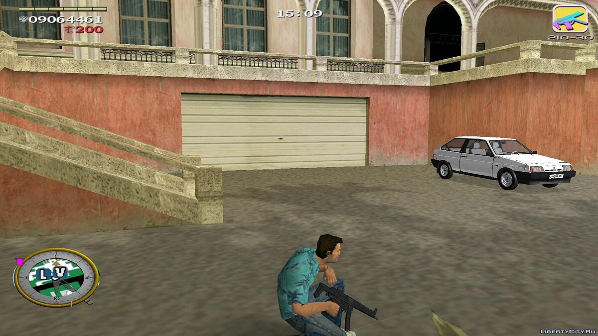 Оружейный мод MP5a2 Slimline для GTA Vice City