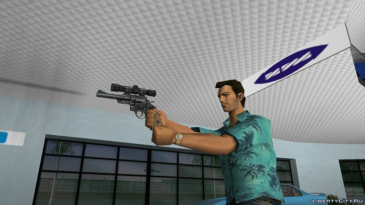 .44 Magnum from Fallout 3 для GTA Vice City - скриншот #2