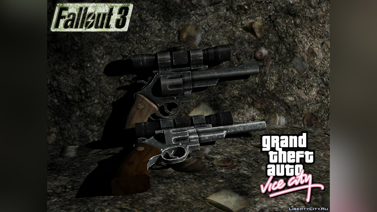 .44 Magnum from Fallout 3 для GTA Vice City