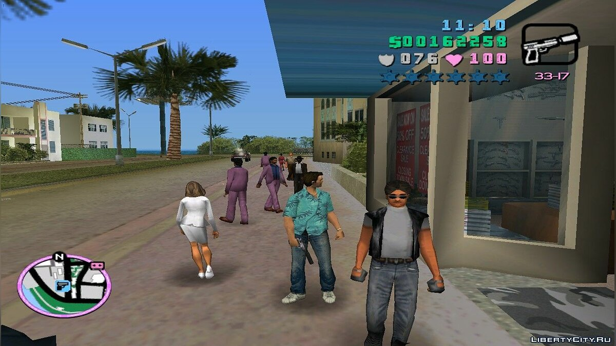 GTA San Andreas silenced to Vice City для GTA Vice City