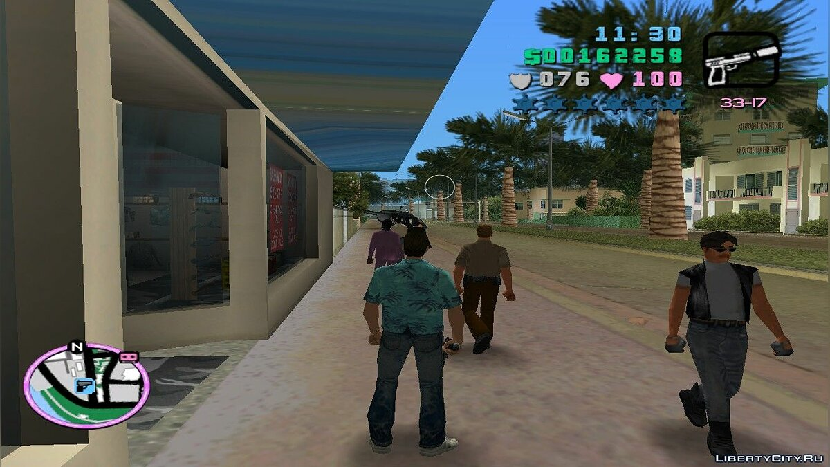 GTA San Andreas silenced to Vice City для GTA Vice City - скриншот #2