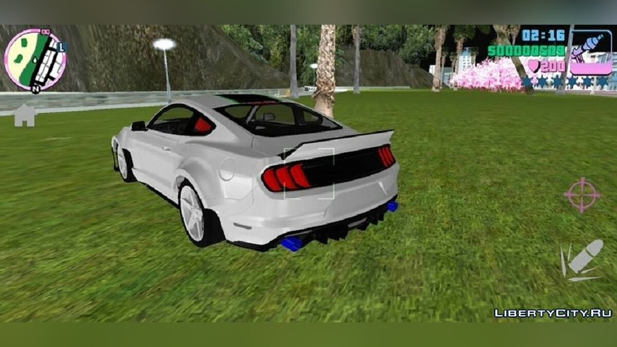 Машина Mustang RTR NFS Payback Style  для GTA Vice City (iOS, Android)
